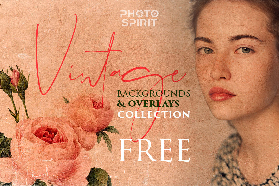 Free Vintage Backgrounds & Overlays For Photoshop