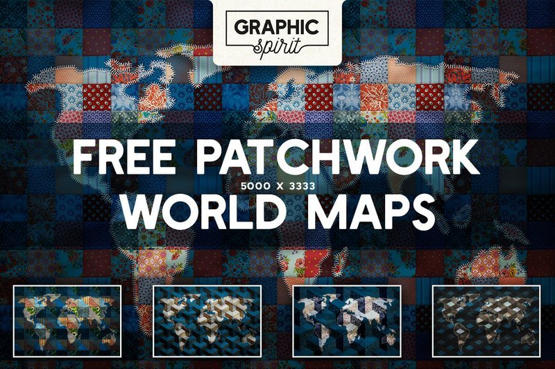 5 Free Patchwork Maps