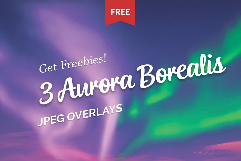 Free Аurora Borealis Photo Overlays