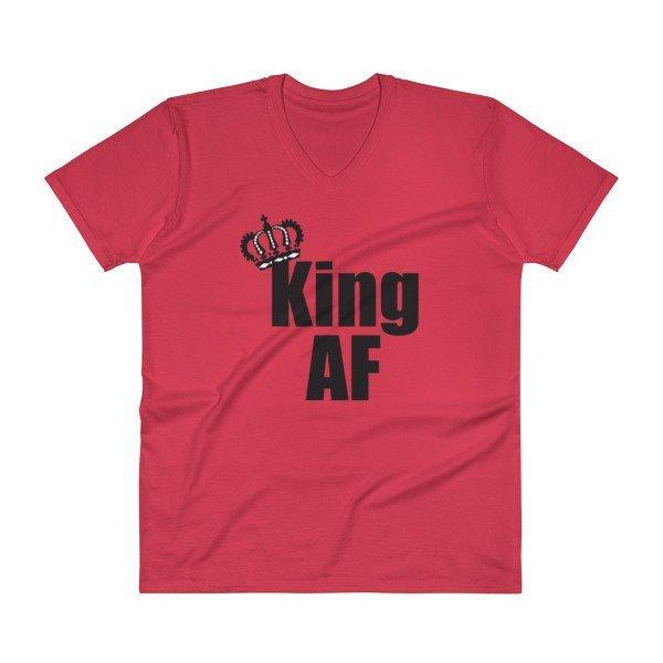 King - Black Print T-Shirt