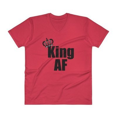 King - Black Print T-Shirt