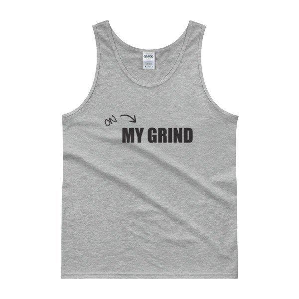 Grind - Black Print Tank Top
