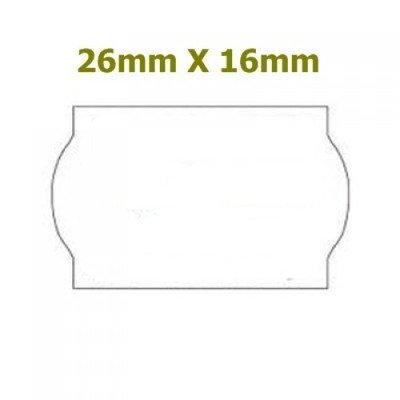 Price mark 26 x 16 Labels