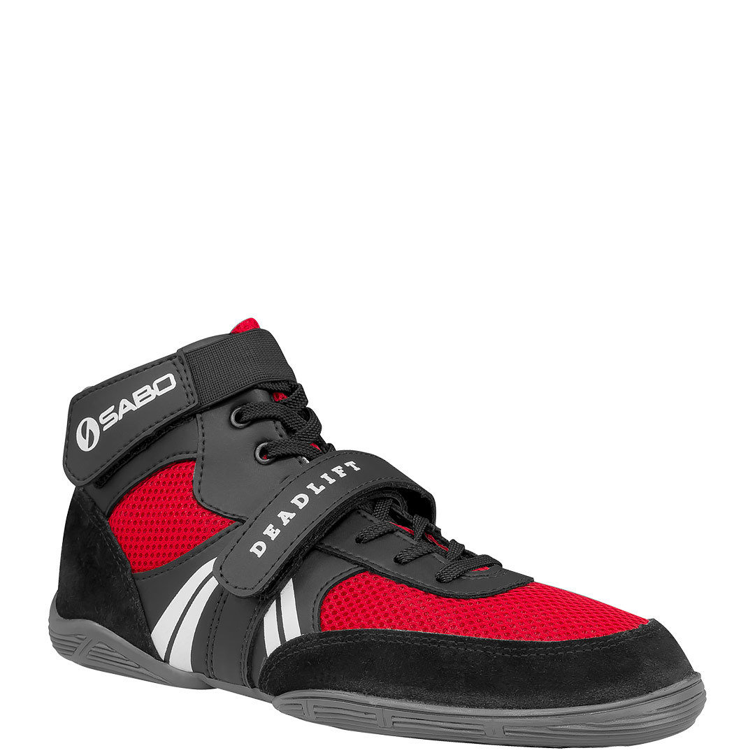 SABO DEADLIFT LIMITED EDITION RED shoes for powerlifting deadlift gym