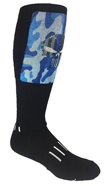 MOXY Socks Punisher DEADLIFT Block Dye-Sublimated Socks
