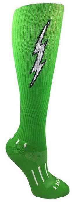 MOXY Socks Lightning Electric Insane Bolt DEADLIFT Socks