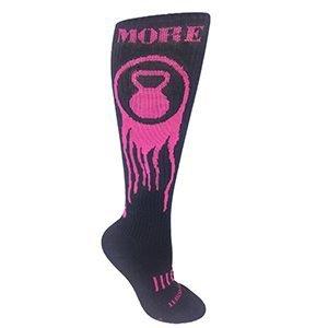 Moxy Socks MORE KETTLEBELL DEADLIFT socks