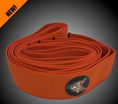 METAL Orange Knee Wraps, 2.0 meters