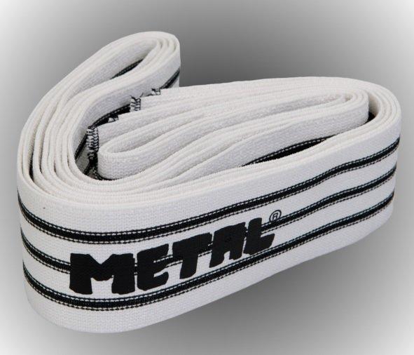 METAL Triple Black Line Knee Wraps