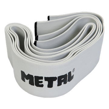 METAL SILVER Knee Wraps, 2.0 meters