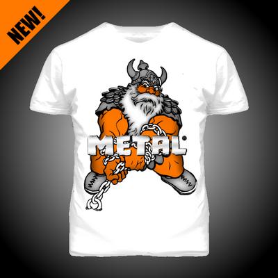 METAL Viking Power T-shirt for workout training gym
