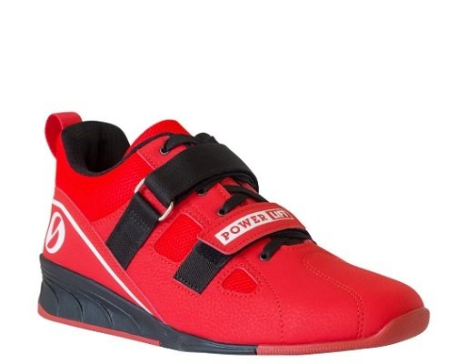 SABO Powerlift RED shoes for weightlifting powerlifting crossfit gym