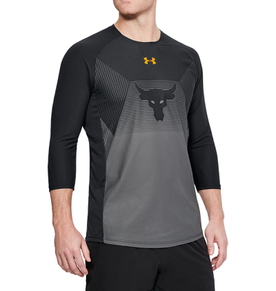 Under Armour UA Project Rock Vanish 3/4 Sleeve Shirt