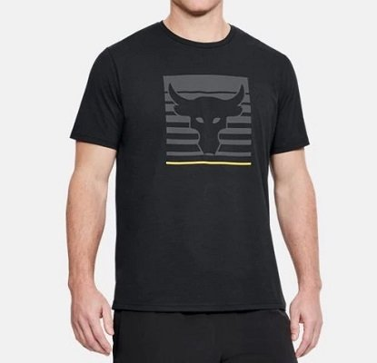 Under Armour PROJECT ROCK T-Shirt for workout, gym, training