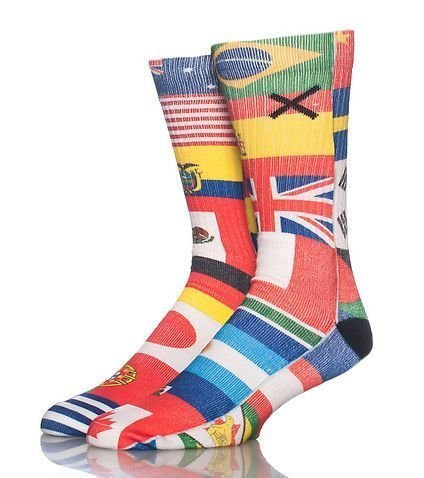 ODD SOX United Nations Socks