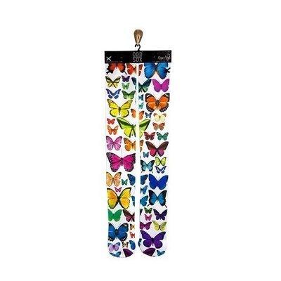 ODD SOX Butterflies Knee-high deadlift socks