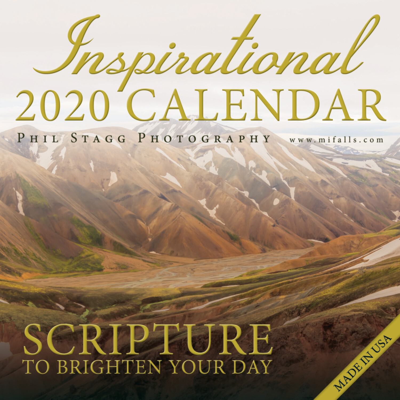2020 Inspirational Calendar