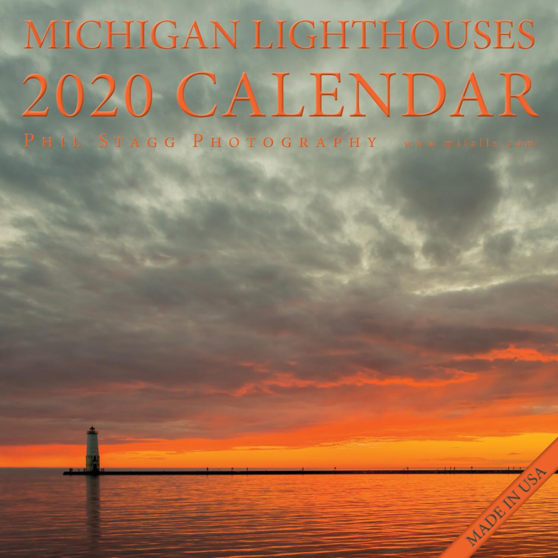 2020 Michigan Lighthouses Calendar