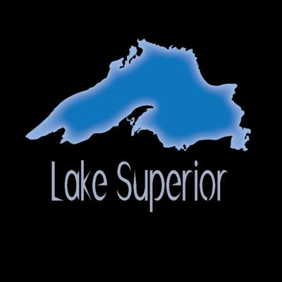 Lake Superior (Outline) Magnet