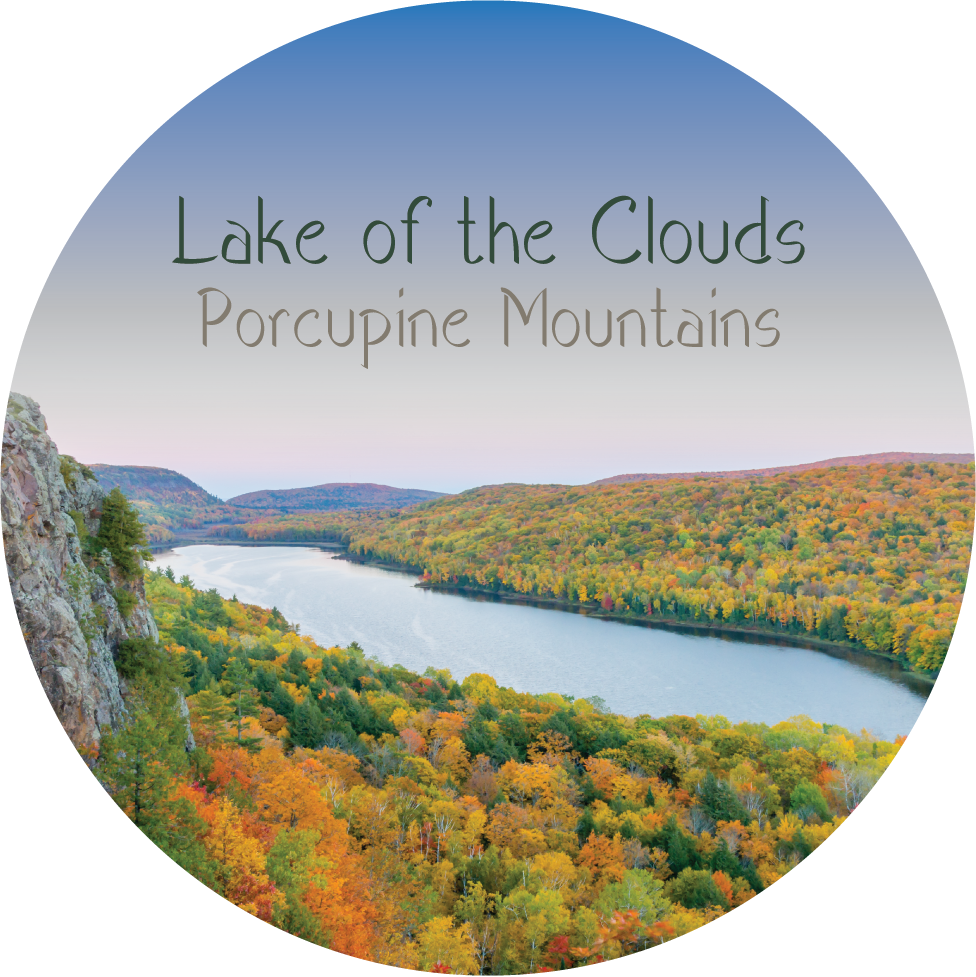 Lake of the Clouds - Porcupine Mountains Magnet