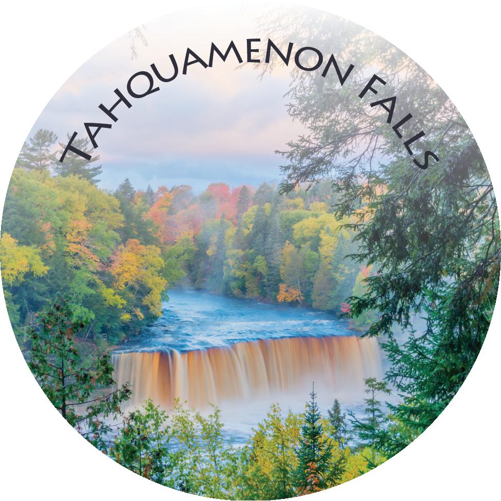Tahquamenon Falls (Fall Color) Magnet