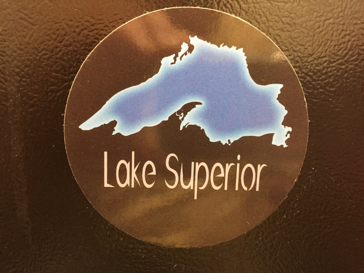 Lake Superior (Outline) Magnet