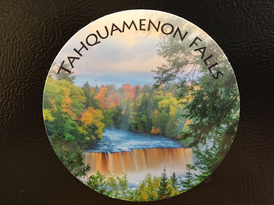Tahquamenon Falls (Fall Color) Magnet