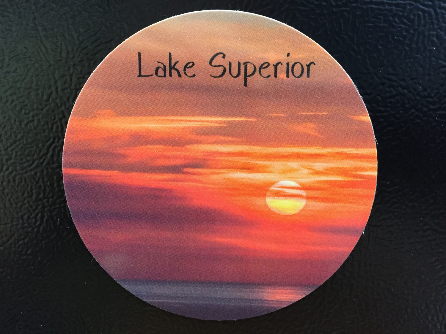 Lake Superior (Cloudy Sunset) Magnet