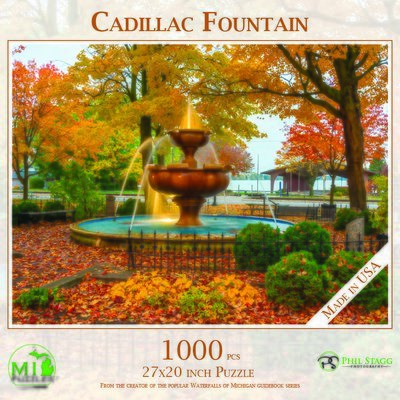 Cadillac Fountain Puzzle