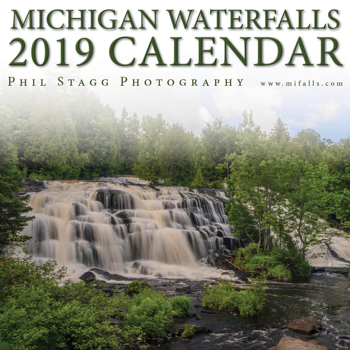 2019 Michigan Waterfalls Calendar