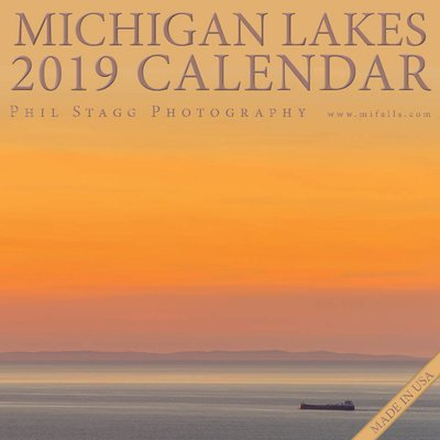 2019 Michigan Lakes Calendar