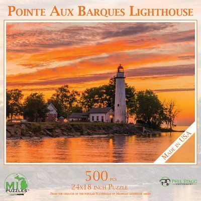 Point aux Barques Light House Puzzle