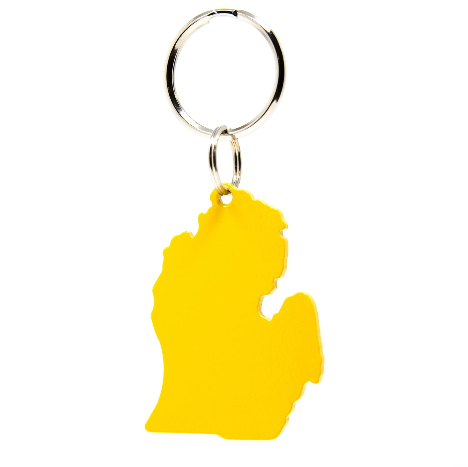 Lower Peninsula Key Chain - Yellow