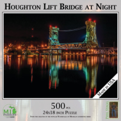 Houghton Lift Bridge at Night