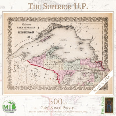 The Superior UP Map