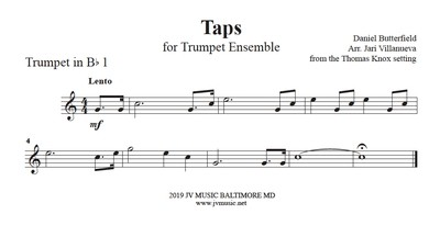Taps for Trumpet Ensemble