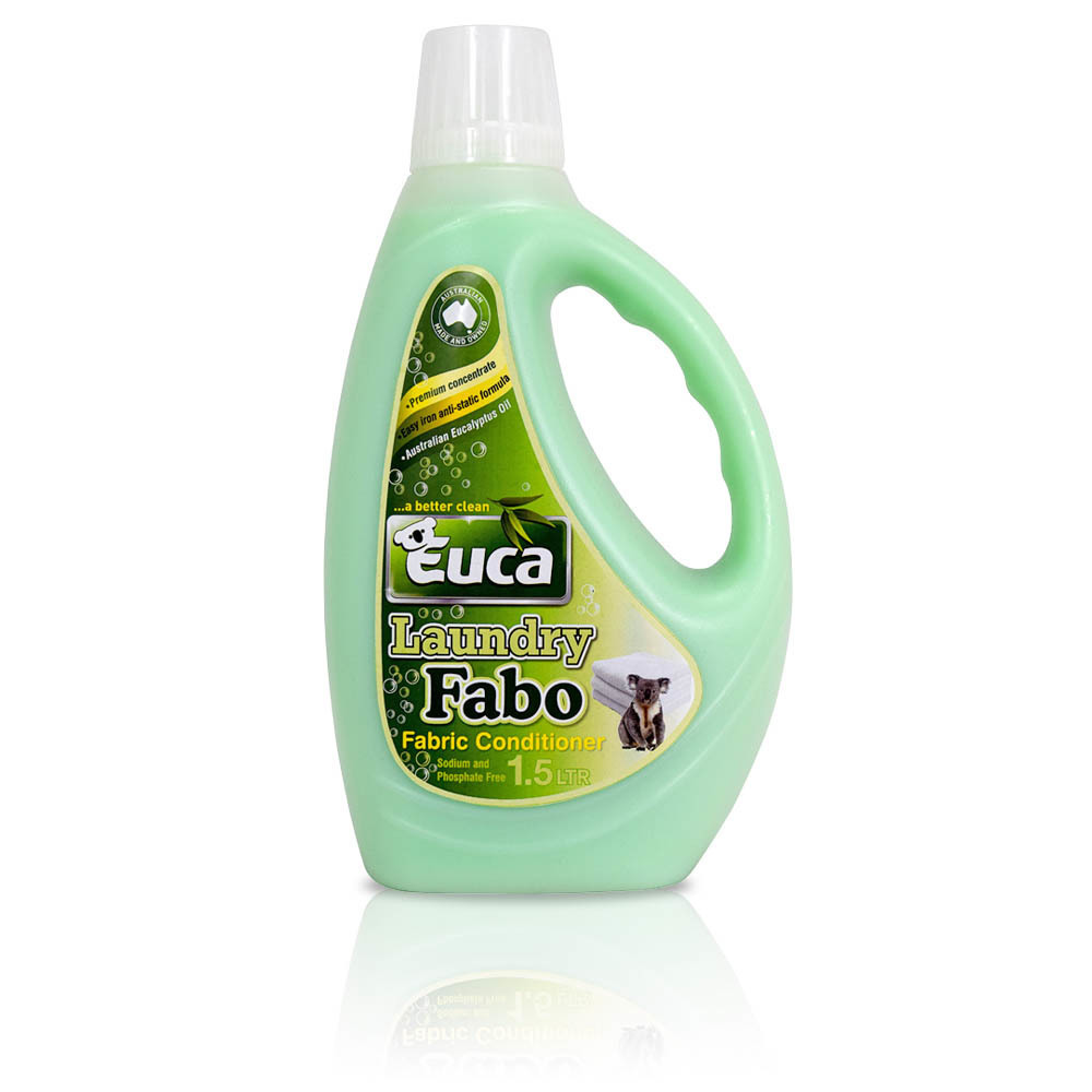 Euca Fabo Fabric Conditioner Softener Concentrate  - 1.5lt, 4lt and 10lt - Makes Ironing Easier & anti-static 129