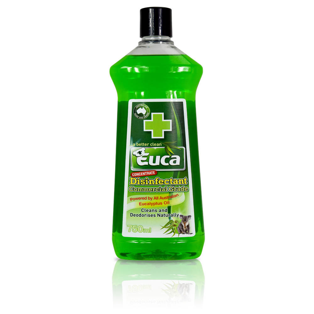 Euca Disinfectant - 500ml Trigger spray,  750ml , 4lt and 10lt - Natural Commercial grade Disinfectant