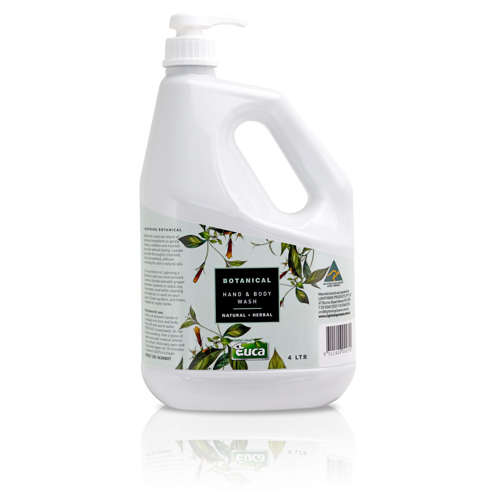 luxury high foam and quick rinse hand and body wash