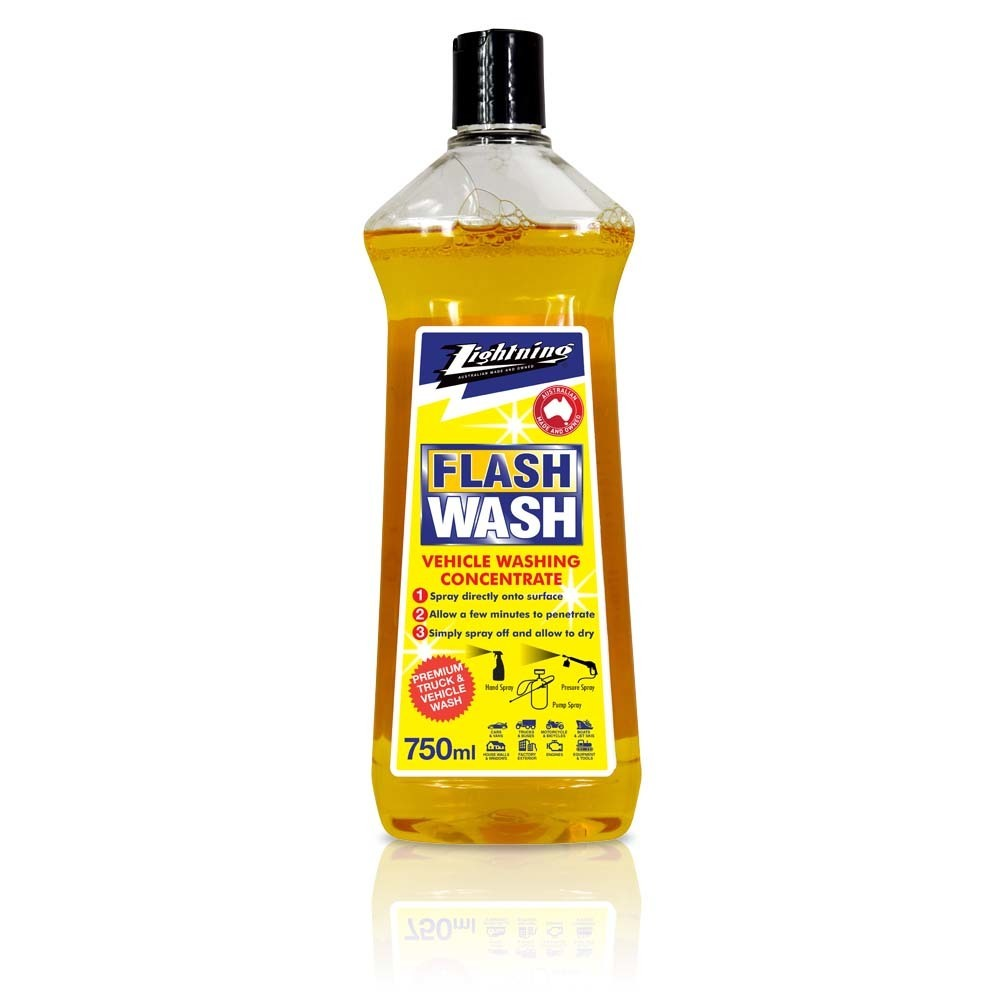 (Coming Soon) Euca Showtime  -750ml, 4lt and 10lt - Highly Concentrated, Exterior House, Windows, Deck, Car, Caravan, Boat & Truck Wash that makes cleaning easier (Previously Known as Flash Wash) 501