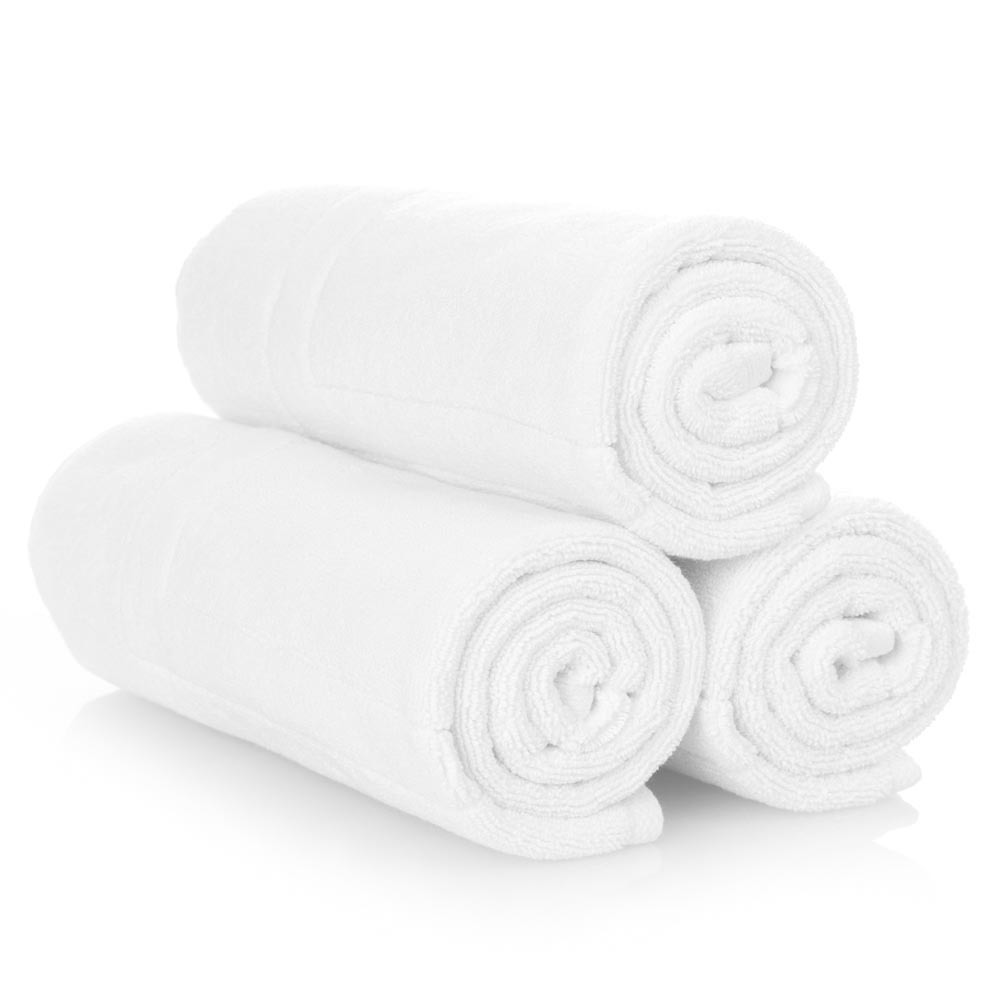 soft towels and blankets