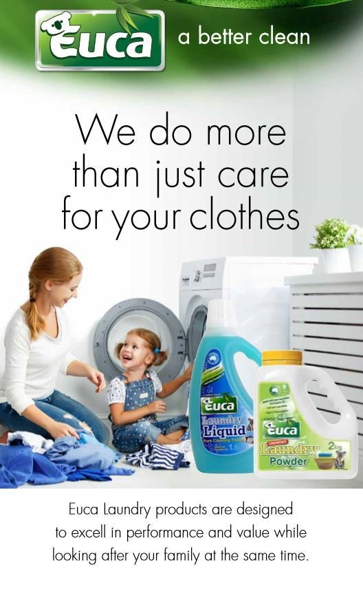 Euca Laundry Powder with Australian Eucalyptus