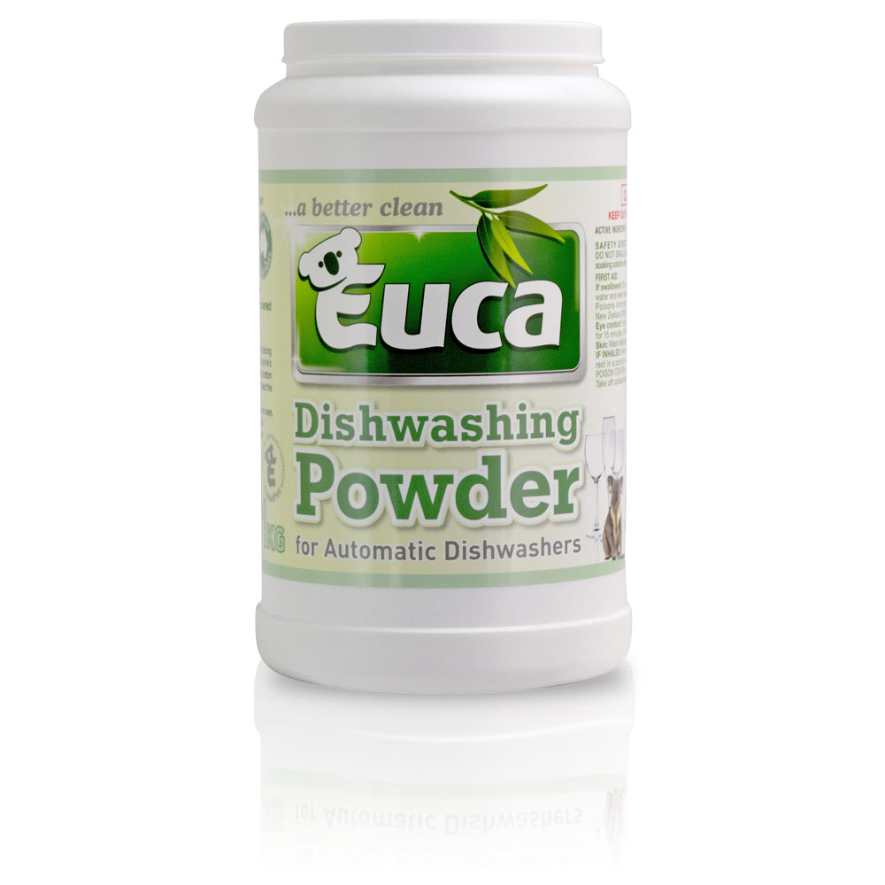 Euca Dish Washing Powder  - 1kg, 2kg, 4kg, New 8kg refill, 10kg & NEW 20kg  - Eco Friendly with No Fillers or other nasties 379
