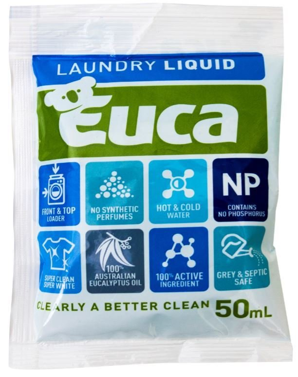 Euca Laundry Liquid 50ml Travel sachet 004S50