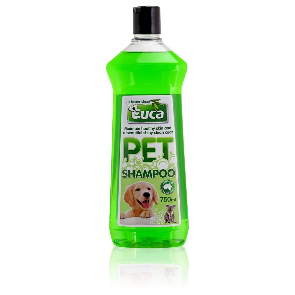 Euca Pet Shampoo 750ml  - Botanical Blend to Calm and Sooth while Protecting their natual Body Oils 145M