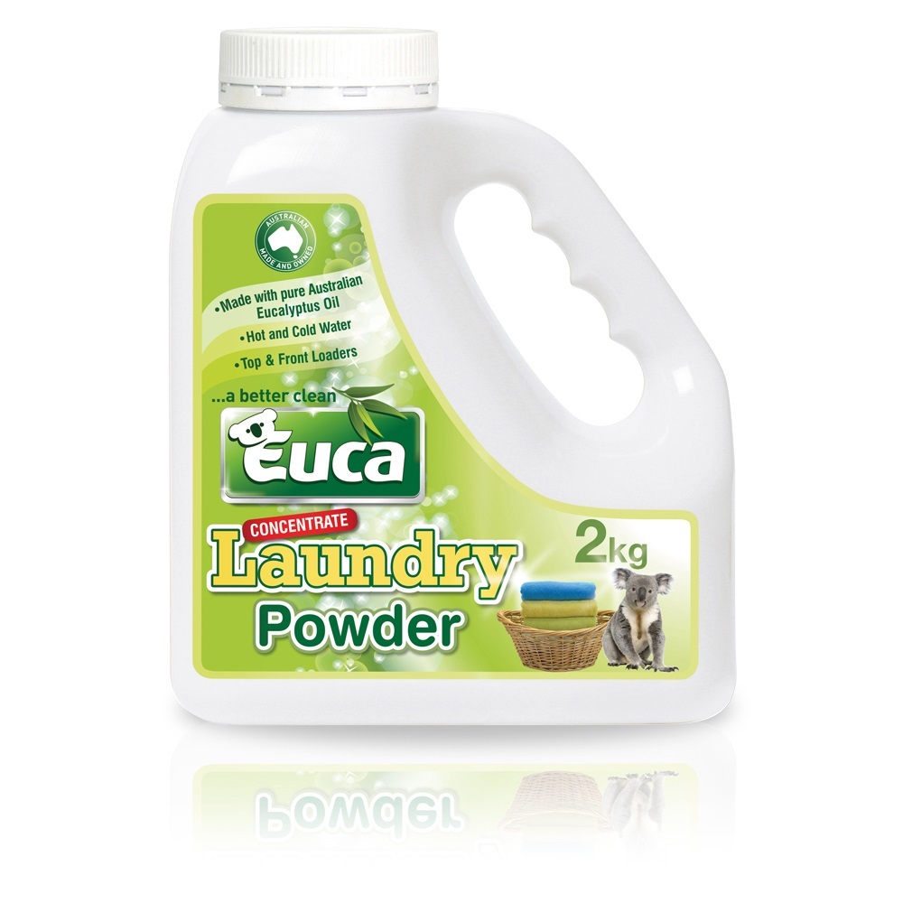 Euca laundry powder  2kg - Concentrate blend = 100 Washes* 106F