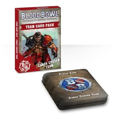 Chaos Chosen Team Card Pack