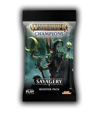 Warhammer Age of Sigmar: Champions Wave 3: Savagery Booster