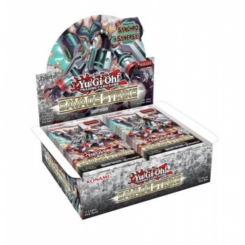 YGO - Savage Strike - Booster Display (24 Boosters)