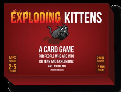 Exploding Kittens 1st Ed. (MEOW)
